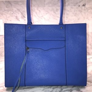 Rebecca Minkoff Medium Tote Bag (Blue)